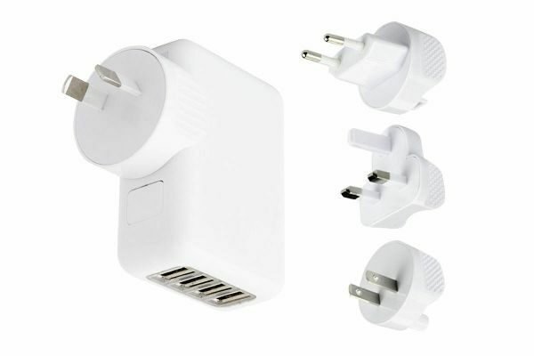 AU/UK/US/EU International Travel Charger