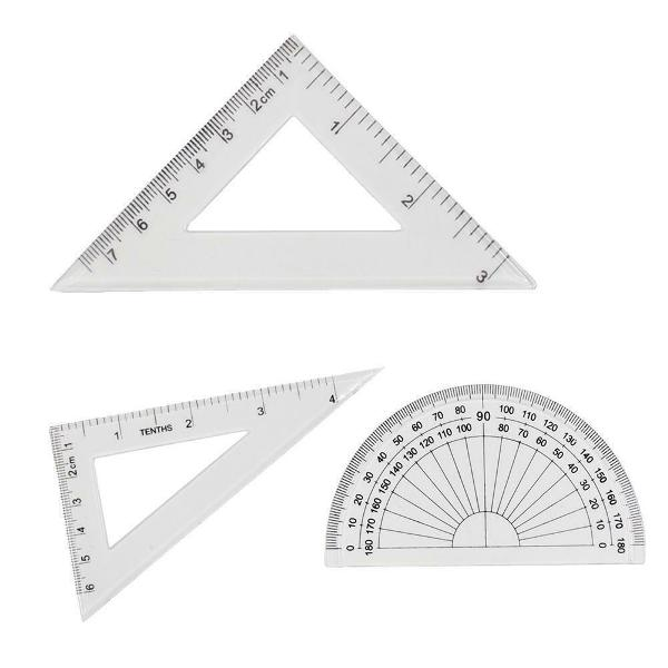 Stationery Drawing Set Square