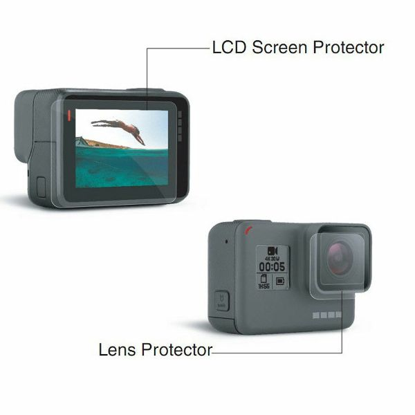 2in1 Lens Screen Protector For GoPro Hero5