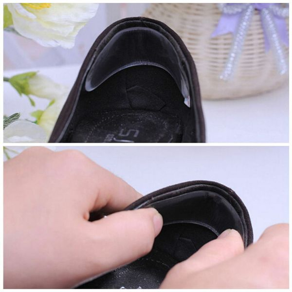 1 Pair Silicone Gel Heel Cushion Protector
