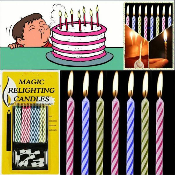 Birthday Cake Candles (10 Pack)