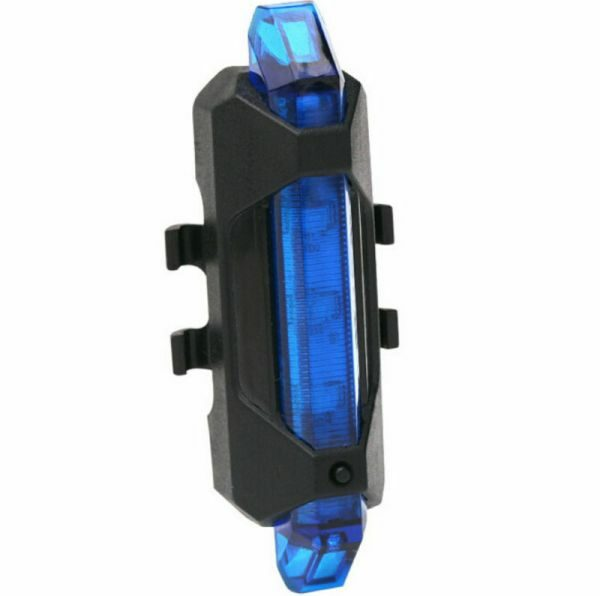 5 LED USB Rechargeable Bike Light