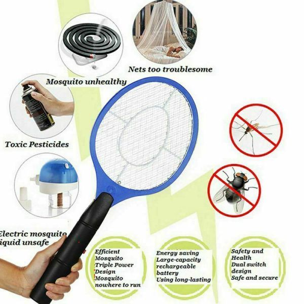 Mosquito Electric Tennis Racket Zapper
