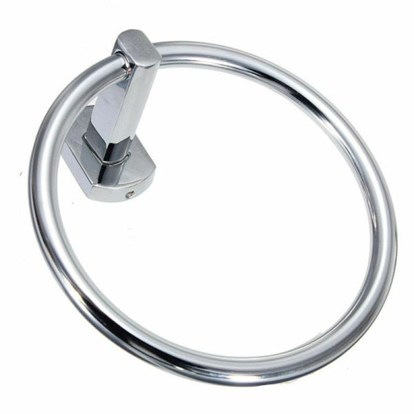 Chrome Hand Towel Ring